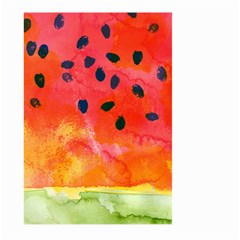 Abstract Watermelon Large Garden Flag (two Sides)