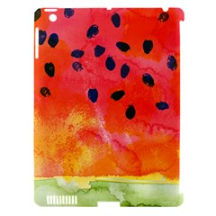 Abstract Watermelon Apple Ipad 3/4 Hardshell Case (compatible With Smart Cover) by DanaeStudio