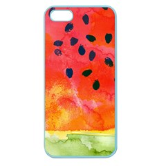 Abstract Watermelon Apple Seamless Iphone 5 Case (color) by DanaeStudio