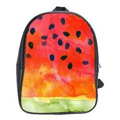 Abstract Watermelon School Bags (xl)  by DanaeStudio