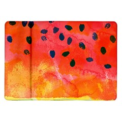 Abstract Watermelon Samsung Galaxy Tab 10 1  P7500 Flip Case by DanaeStudio