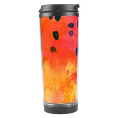 Abstract Watermelon Travel Tumbler by DanaeStudio