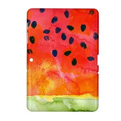 Abstract Watermelon Samsung Galaxy Tab 2 (10 1 ) P5100 Hardshell Case