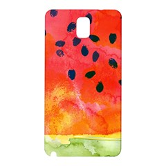 Abstract Watermelon Samsung Galaxy Note 3 N9005 Hardshell Back Case by DanaeStudio