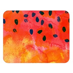 Abstract Watermelon Double Sided Flano Blanket (large)