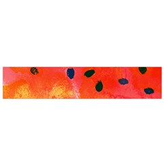 Abstract Watermelon Flano Scarf (small)