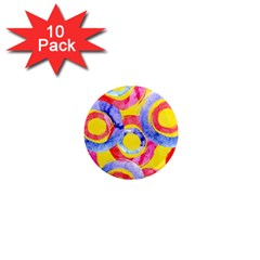 Blue And Pink Dream 1  Mini Magnet (10 Pack)