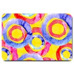 Blue And Pink Dream Large Doormat  30 x20 Door Mat - 1