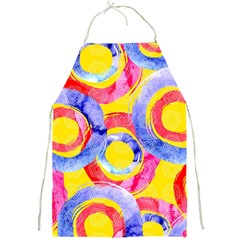 Blue And Pink Dream Full Print Aprons by DanaeStudio