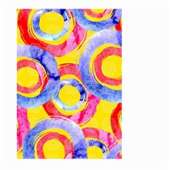 Blue And Pink Dream Large Garden Flag (two Sides) by DanaeStudio