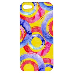 Blue And Pink Dream Apple Iphone 5 Hardshell Case