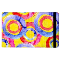 Blue And Pink Dream Apple Ipad 2 Flip Case by DanaeStudio