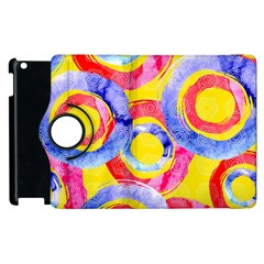 Blue And Pink Dream Apple Ipad 2 Flip 360 Case by DanaeStudio