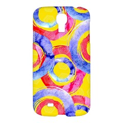 Blue And Pink Dream Samsung Galaxy S4 I9500/i9505 Hardshell Case by DanaeStudio