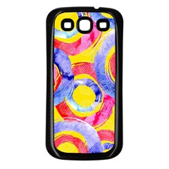 Blue And Pink Dream Samsung Galaxy S3 Back Case (black) by DanaeStudio