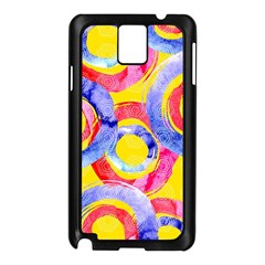 Blue And Pink Dream Samsung Galaxy Note 3 N9005 Case (black)
