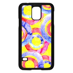 Blue And Pink Dream Samsung Galaxy S5 Case (black) by DanaeStudio