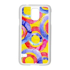 Blue And Pink Dream Samsung Galaxy S5 Case (white)