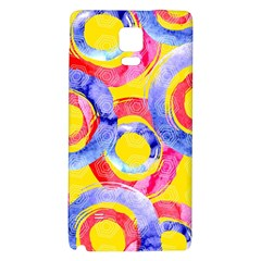 Blue And Pink Dream Galaxy Note 4 Back Case by DanaeStudio