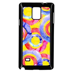 Blue And Pink Dream Samsung Galaxy Note 4 Case (black)
