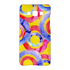 Blue And Pink Dream Samsung Galaxy A5 Hardshell Case  by DanaeStudio