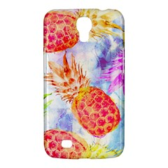 Colorful Pineapples Over A Blue Background Samsung Galaxy Mega 6 3  I9200 Hardshell Case by DanaeStudio