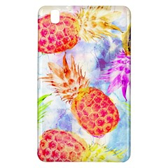 Colorful Pineapples Over A Blue Background Samsung Galaxy Tab Pro 8 4 Hardshell Case by DanaeStudio