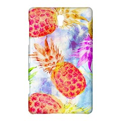 Colorful Pineapples Over A Blue Background Samsung Galaxy Tab S (8 4 ) Hardshell Case