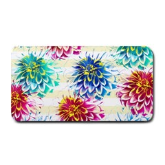 Colorful Dahlias Medium Bar Mats by DanaeStudio