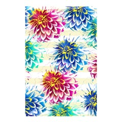 Colorful Dahlias Shower Curtain 48  X 72  (small)  by DanaeStudio