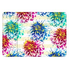 Colorful Dahlias Samsung Galaxy Tab 8 9  P7300 Flip Case by DanaeStudio
