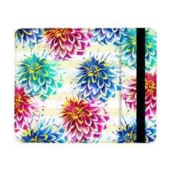 Colorful Dahlias Samsung Galaxy Tab Pro 8 4  Flip Case by DanaeStudio