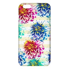 Colorful Dahlias Iphone 6 Plus/6s Plus Tpu Case by DanaeStudio