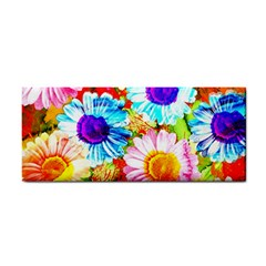 Colorful Daisy Garden Cosmetic Storage Cases by DanaeStudio