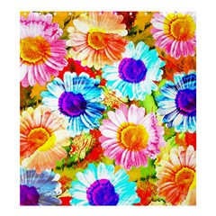 Colorful Daisy Garden Shower Curtain 66  X 72  (large)