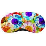 Colorful Daisy Garden Sleeping Masks Front