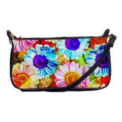 Colorful Daisy Garden Shoulder Clutch Bags