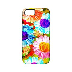 Colorful Daisy Garden Apple Iphone 5 Classic Hardshell Case (pc+silicone)