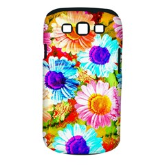 Colorful Daisy Garden Samsung Galaxy S Iii Classic Hardshell Case (pc+silicone)