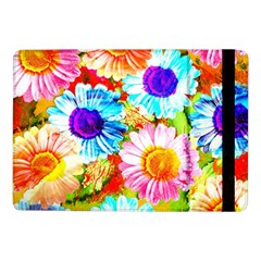 Colorful Daisy Garden Samsung Galaxy Tab Pro 10 1  Flip Case by DanaeStudio