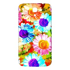 Colorful Daisy Garden Samsung Galaxy Mega I9200 Hardshell Back Case by DanaeStudio