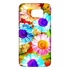 Colorful Daisy Garden Galaxy S6 by DanaeStudio