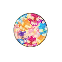 Colorful Pansies Field Hat Clip Ball Marker (10 Pack) by DanaeStudio