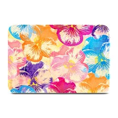 Colorful Pansies Field Plate Mats by DanaeStudio