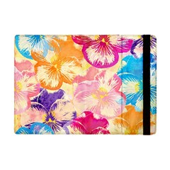 Colorful Pansies Field Apple Ipad Mini Flip Case
