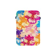 Colorful Pansies Field Apple Ipad Mini Protective Soft Cases