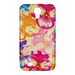 Colorful Pansies Field Samsung Galaxy Mega 6 3  I9200 Hardshell Case