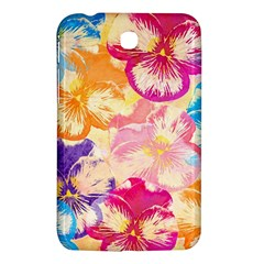 Colorful Pansies Field Samsung Galaxy Tab 3 (7 ) P3200 Hardshell Case