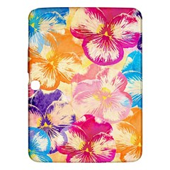 Colorful Pansies Field Samsung Galaxy Tab 3 (10 1 ) P5200 Hardshell Case
