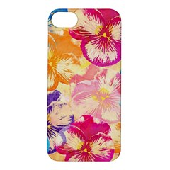 Colorful Pansies Field Apple Iphone 5s/ Se Hardshell Case